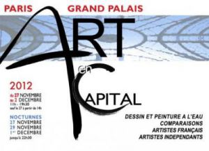 ART EN CAPITAL au GRAND PALAIS Paris
